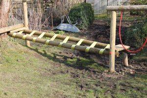 loopbrug tuin
